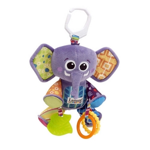 Image of   Elefant rangle med pivelyd Lamaze