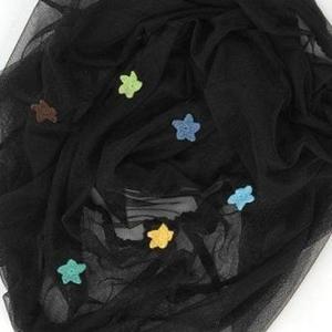 Image of   SmallStuff insektnet med hæklede stjerner, dreng