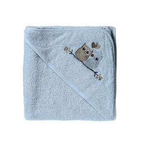 Image of Baby Dan, Love Birds badehåndklæde, blå (4954-20-2631)