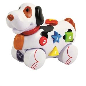 Image of   Baby Buddy Hund med hjul og musik
