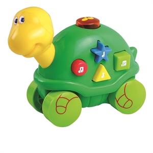 Image of   Baby Buddy Skildpadde med hjul og musik