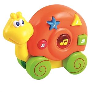 Image of   Baby Buddy Snegl med hjul og musik