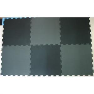 Image of Basson skumpuslebrikker, 6 stk., 60 x 60 cm., sort/grå