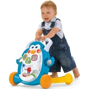 Image of   Chicco, Activity Walker gåvogn, Pingvin