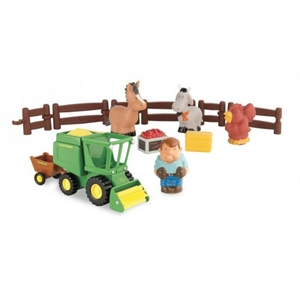 Image of   First Little Farm Playset, John Deere
