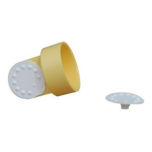 2 ventilhoveder med 6 membraner, Medela thumbnail
