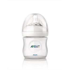Image of   Avent sutteflaske PP 125 ml., BPA fri, Natural