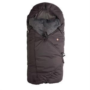 Image of Sleepbag, 0-3 år, sort/grå (6663366633663426)