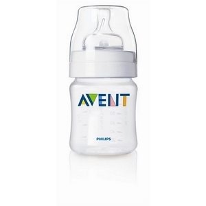 Image of Avent sutteflaske PP 125 ml., BPA fri, Klassisk