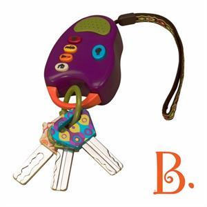 Image of   B-Toys nøglebundt med lyd og lys