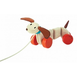 Image of   Glad hundehvalp. Plantoys
