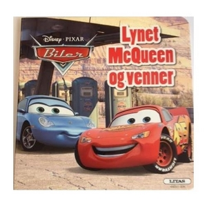 Image of   Lynet McQueen og venner, papbog