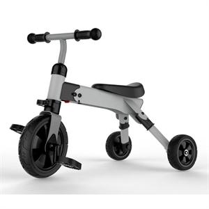 Image of   MamaMemo trehjulet 2-i-1 cykel, grå