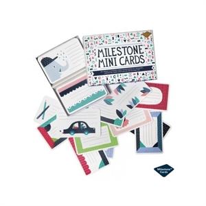 Image of   Milestone Mini Cards, 100 stk.