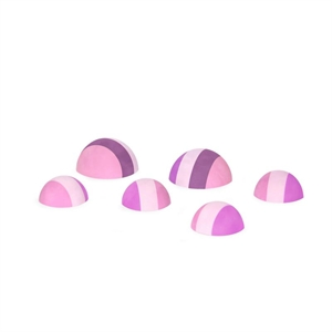 Image of   Bobles tumlesten, multipink