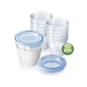 Image of   AVENT VIA beholdere til modermælk