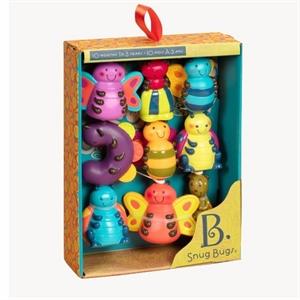 Image of   B-Toys Snug Bugs, klik-sammen-dyr