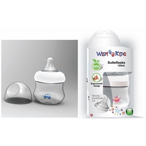 Wish Kids sutteflaske, 125 ml., BPA fri thumbnail